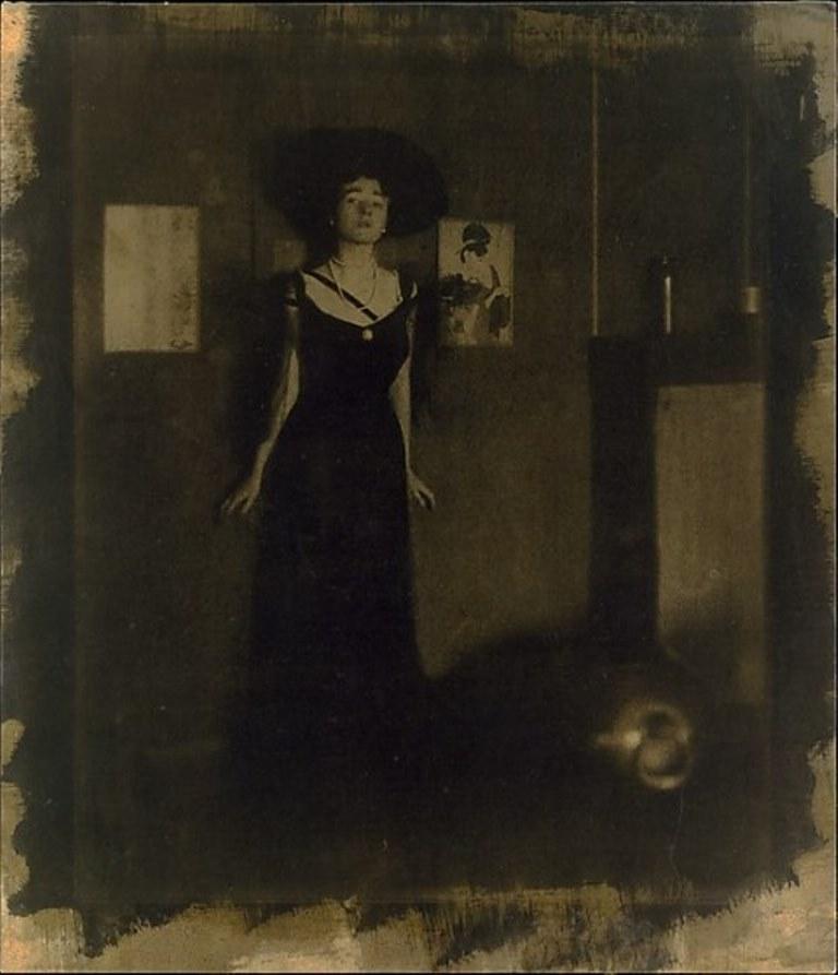 Edward J. Steichen . Sans titre 1908. Via metmuseum
