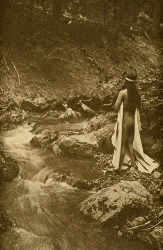 Edward S. Curtis. The maid of dreams 1909 Via liveauctioneers