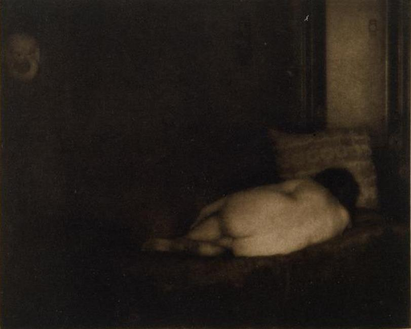 Edward Steichen. Le Modèle et le masque Camera Work 1906. RMN
