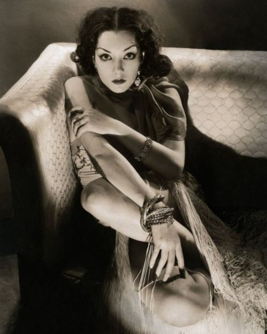 Edward Steichen. Lupe Velez for  Vanity Fair 1932