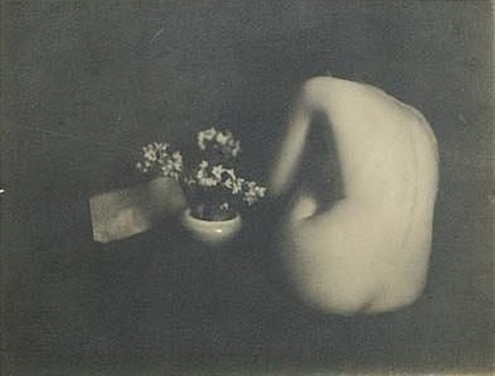 Edward Steichen. Narcissus 1902. Via mutualart