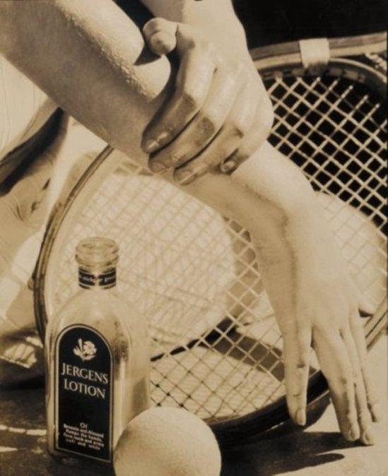 Edward Steichen. Publicité pour Jergens Lotion 1928. drouot
