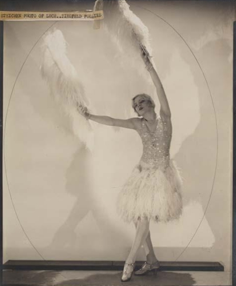 Edward Steichen. Ziegfeld star Claire Luce 1926. Mutualart