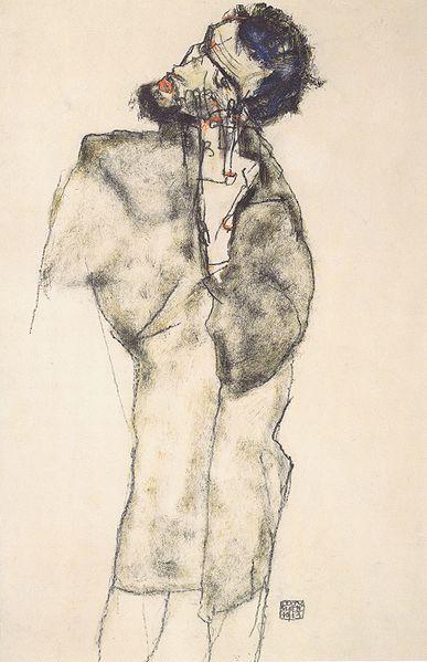Egon Schiele. Autoportrait 1913