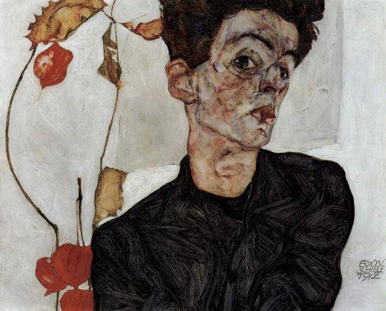 Egon Schiele. Autoportrait1 1912