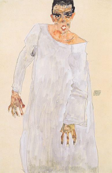 Egon Schiele. Autoportrait2 1911