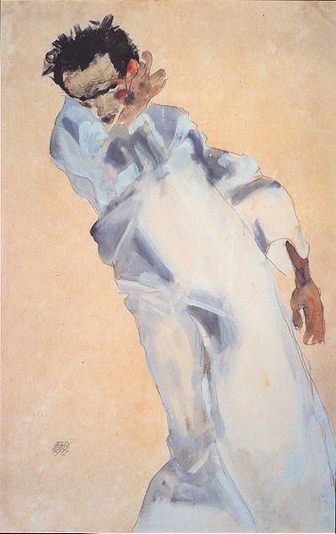 Egon Schiele. Autoportrait2 1912