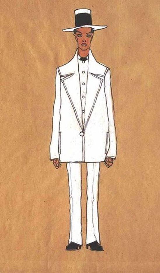 Egon Schiele. Autoportrait3