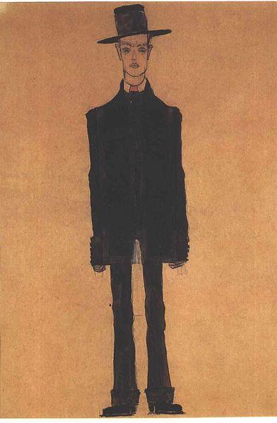 Egon Schiele. Autoportrait6