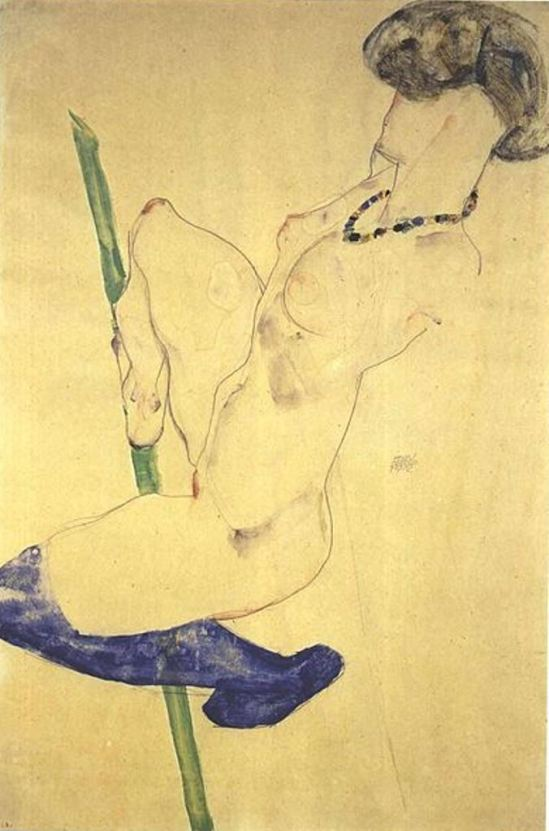 Egon Schiele. Danseuse 1912