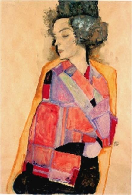 Egon Schiele. Die träumende 1911