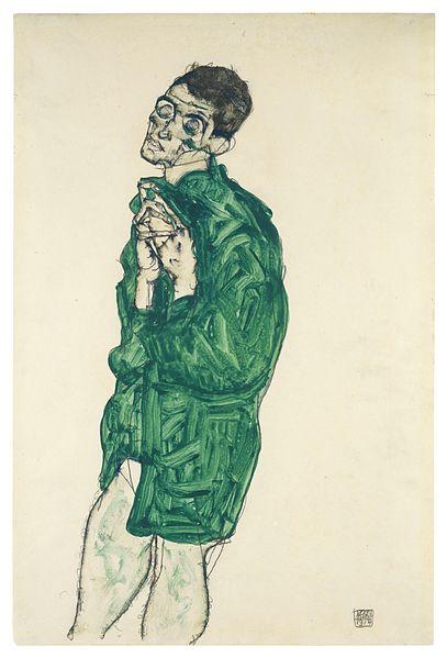 Egon Schiele1. Autoportrait 1914