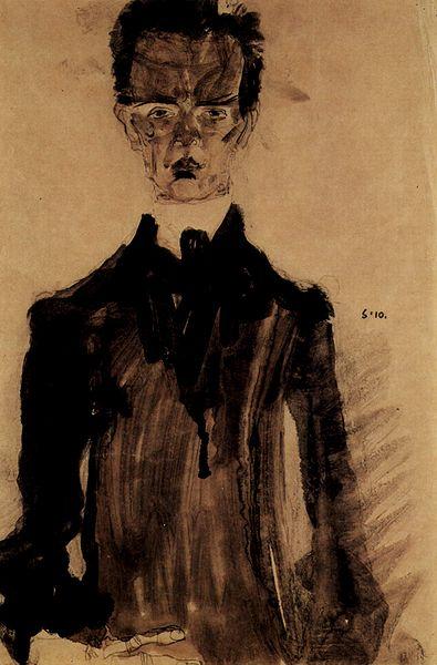 Egon Schiele10. Autoportrait 1910