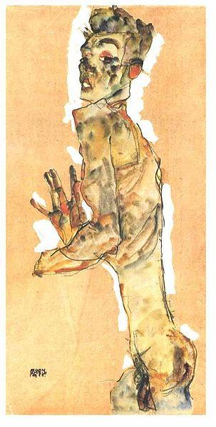 Egon Schiele12. Autoportrait 1911