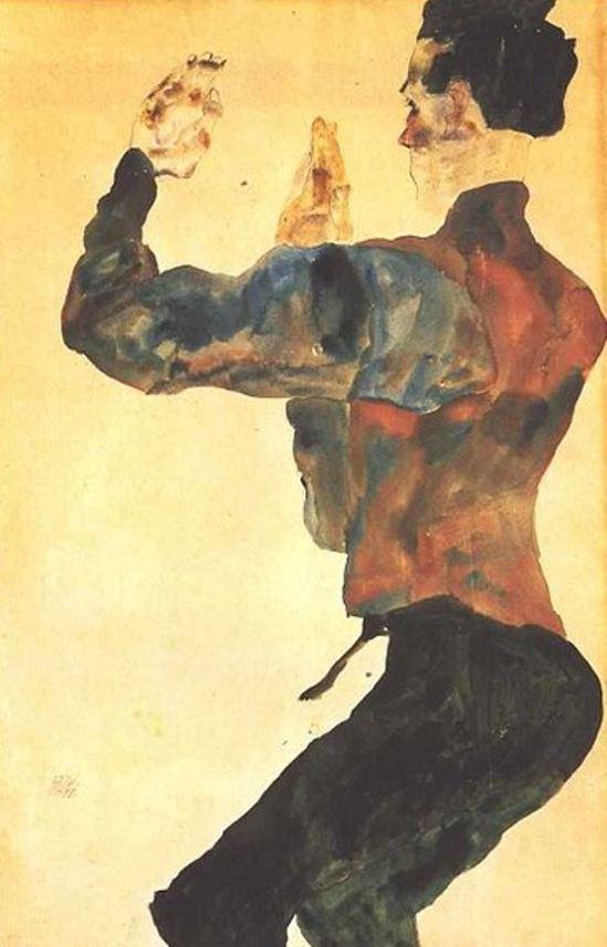 Egon Schiele12. Autoportrait 1912