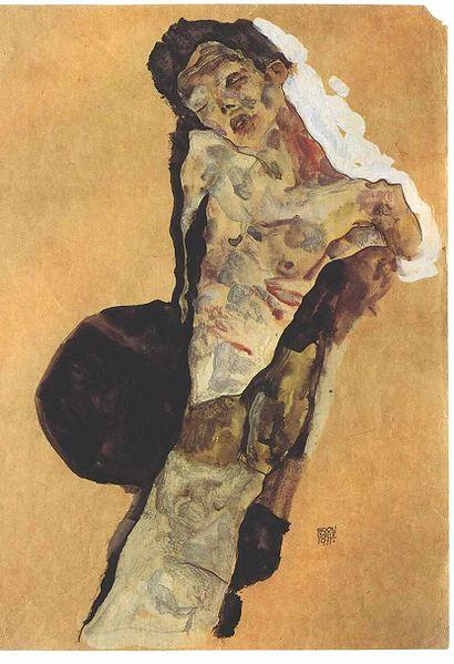 Egon Schiele13. Autoportrait 1911