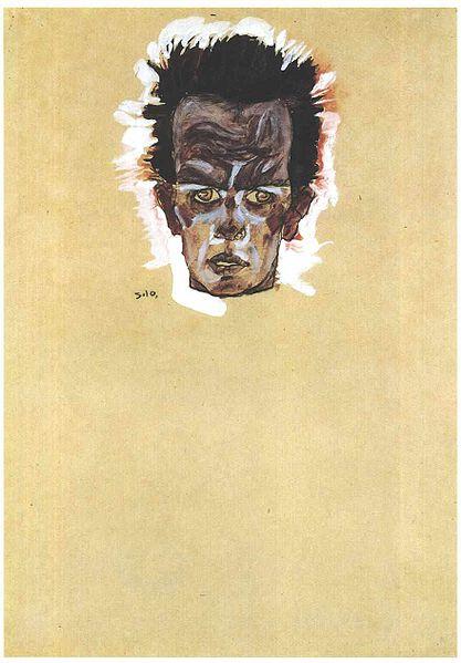 Egon Schiele16. Autoportrait 1910