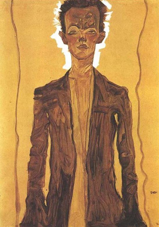 Egon Schiele17. Autoportrait 1910