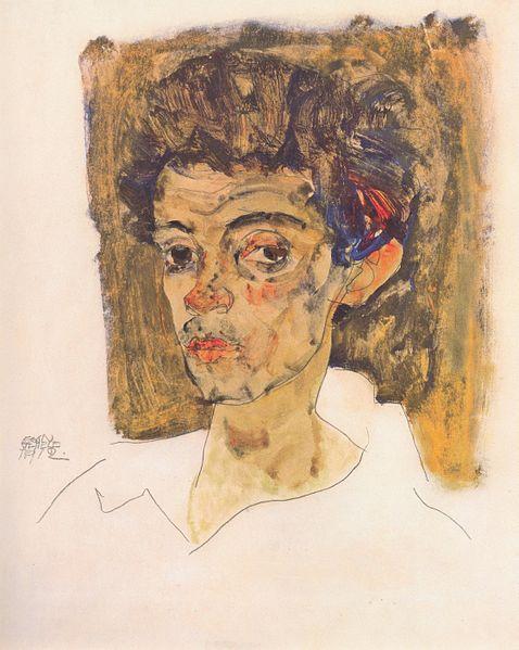Egon Schiele2. Autoportrait 1912