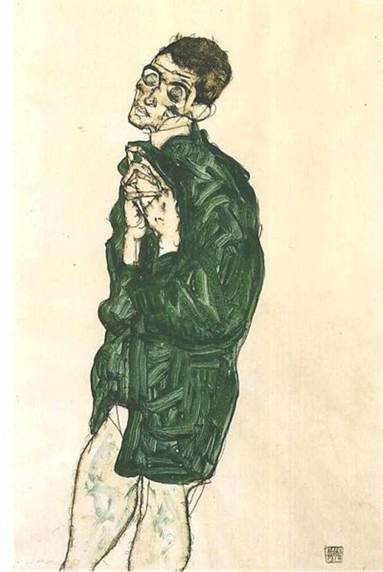 Egon Schiele21. Autoportrait 1914