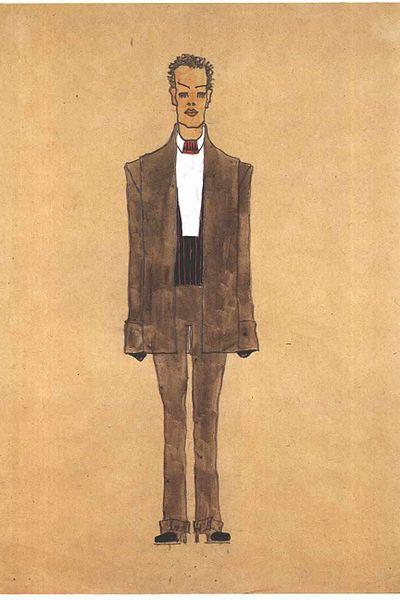 Egon Schiele5. Autoportrait