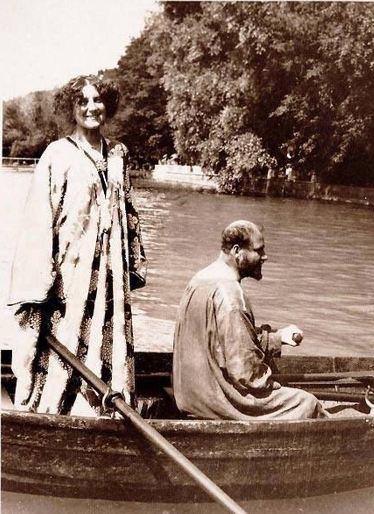 Emilie Flöge et Gustav Klimt .gpg
