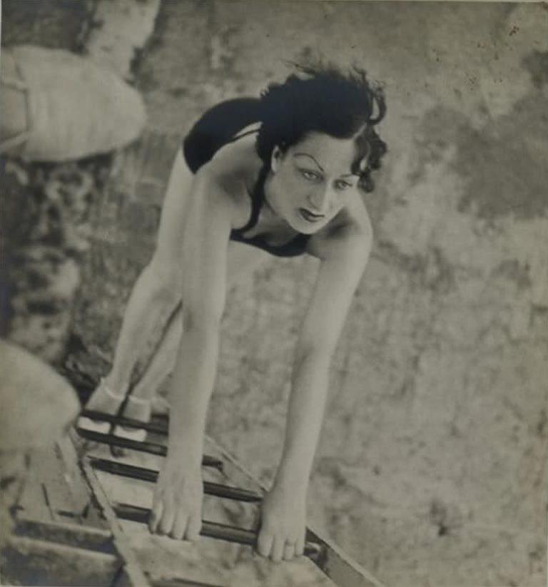 F. Franc Lamy1Kiki de Montparnasse, 1930. Via theredlist