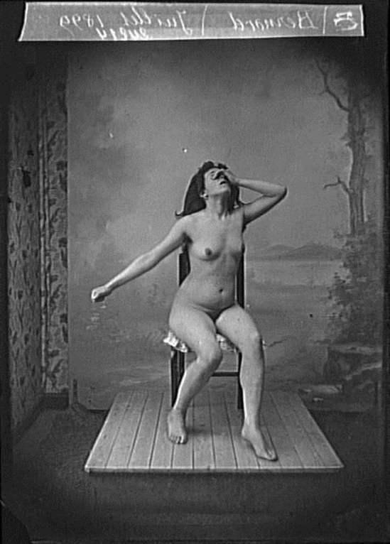 François Antoine Vizzavona. Portrait d'un modèle pour Bernard 1899. Via RMN