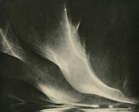 Francis Bruguiere. Light Abstraction 1931 Via liveauctioneers