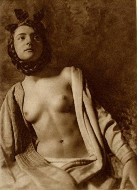 Frank Eugene. Alemanio-Saxon nude 1920 Via liveauctioneers