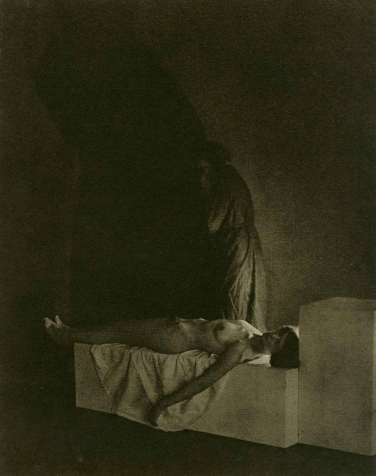 Frantisek Drtikol. La Mort 1925 Via liveauctioneers