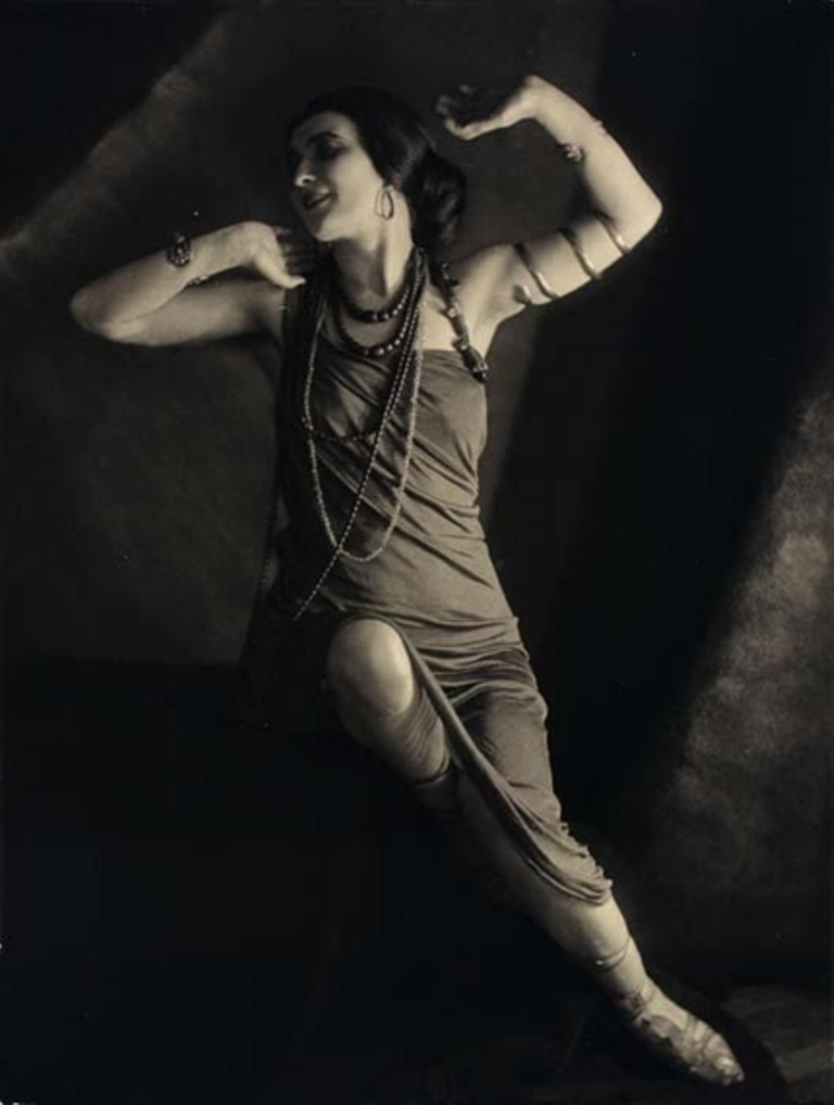 Frantisek drtikol. Model with snake bracelet 1925