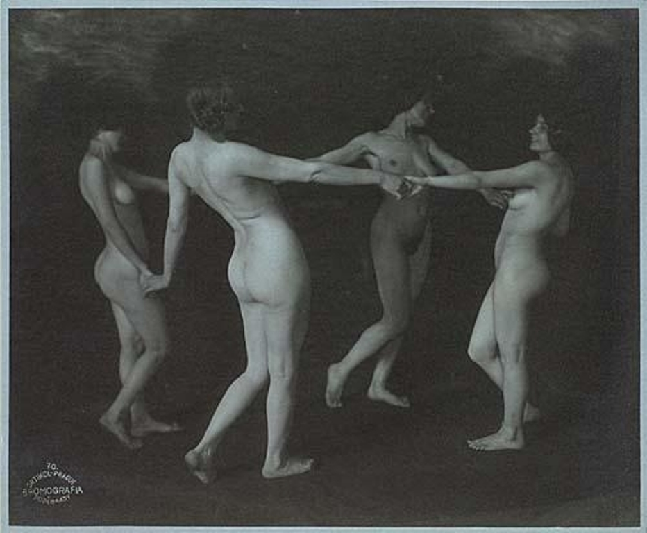 Frantisek Drtikol. nude studies 1920. Via mutualart