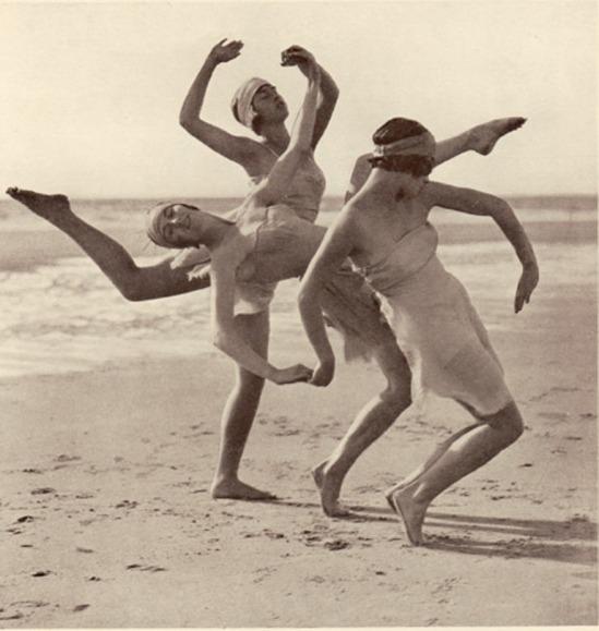 Fred Daniels. Margaret Morris vers 1920. Via a-t-om.com