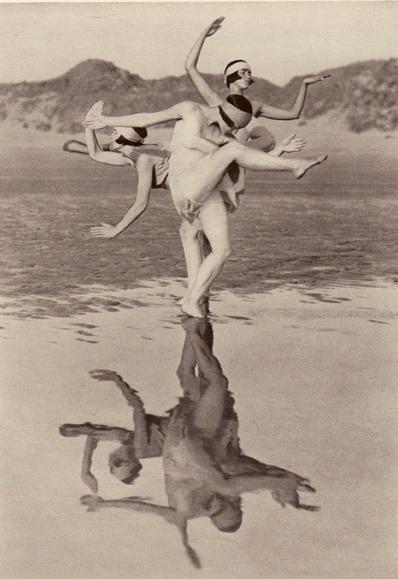 Fred Daniels1. Margaret Morris vers 1920. Via a-t-om.com