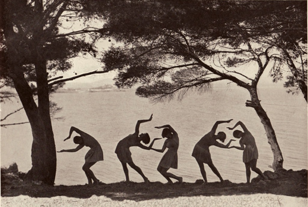 Fred Daniels2. Margaret Morris vers 1920. Via a-t-om.com