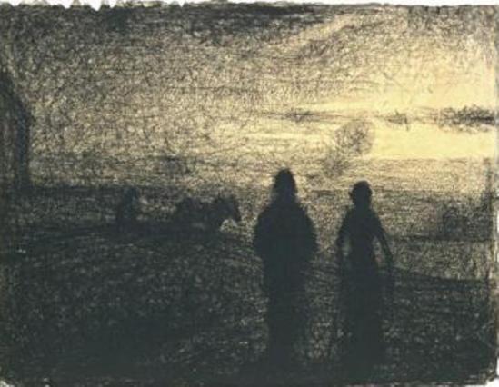 Georges Seurat (1859-1891) Le laboureur