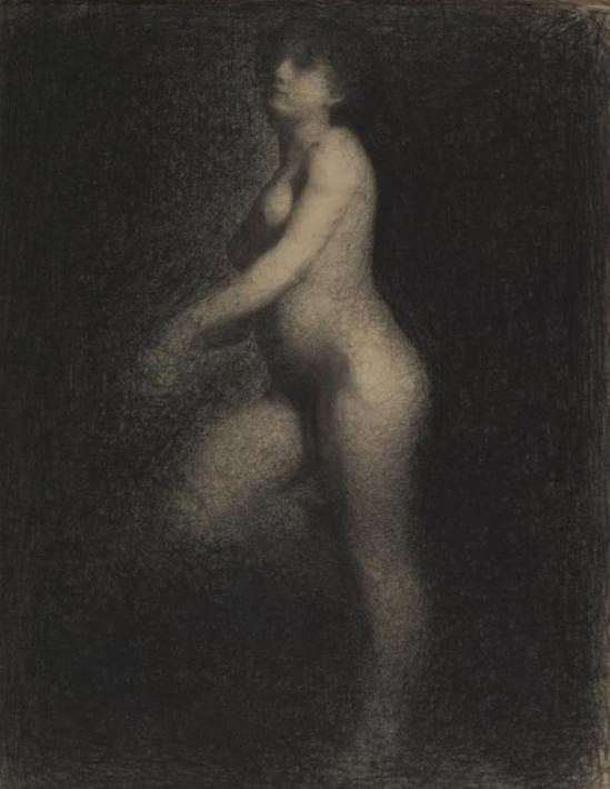 Georges Seurat. Female nude 1879-1881