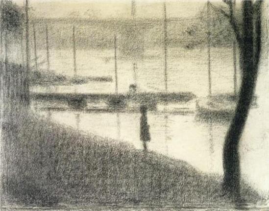 Georges Seurat. Le pont de Courbevoie 1886