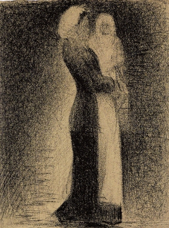 Georges Seurat. The nurse. 1882-1883