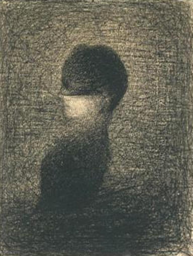 Georges Seurat. Voilette 1883
