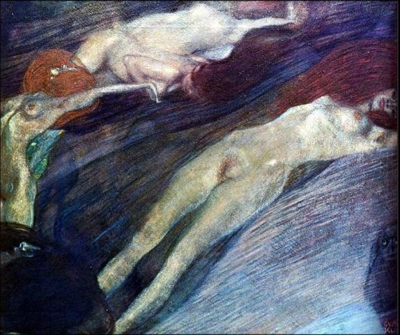 Gustav Klimt. Moving water 1898.jpg