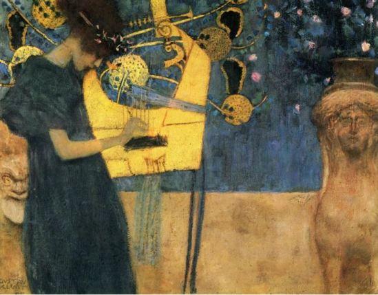 Gustav Klimt. Musique 1895