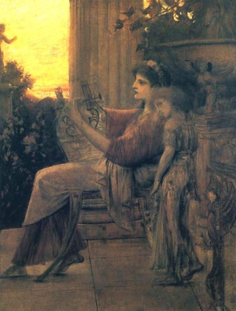 Gustav Klimt. Sappho 1888