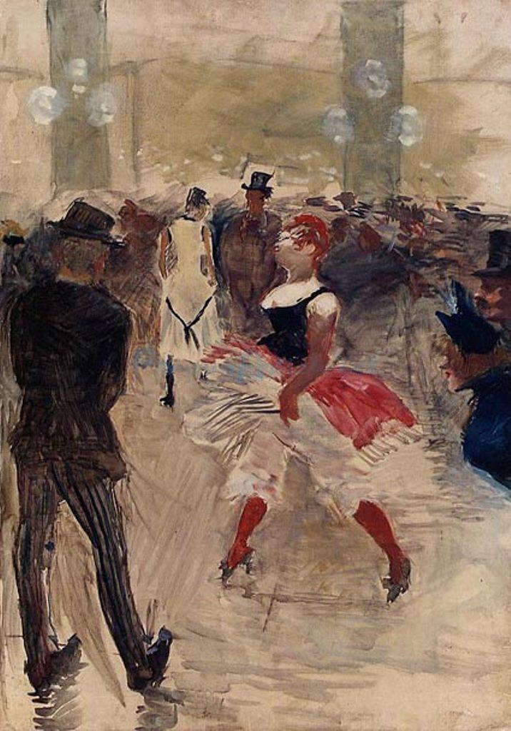 Henri de Toulouse-Lautrec. A l' Elysée Montmartre 1888