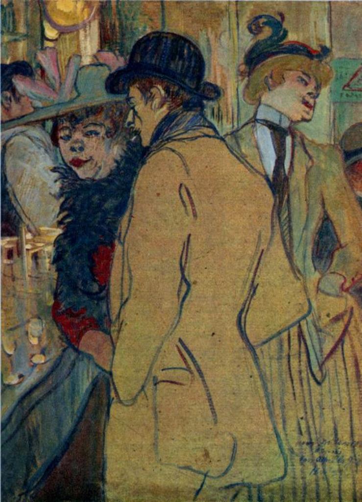 Henri de Toulouse-Lautrec. Alfred la Guigne 1894