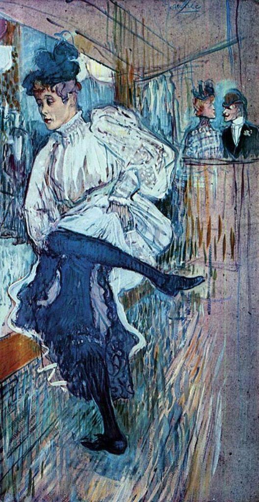 Henri de Toulouse-Lautrec. Jane Avril dancing 1982