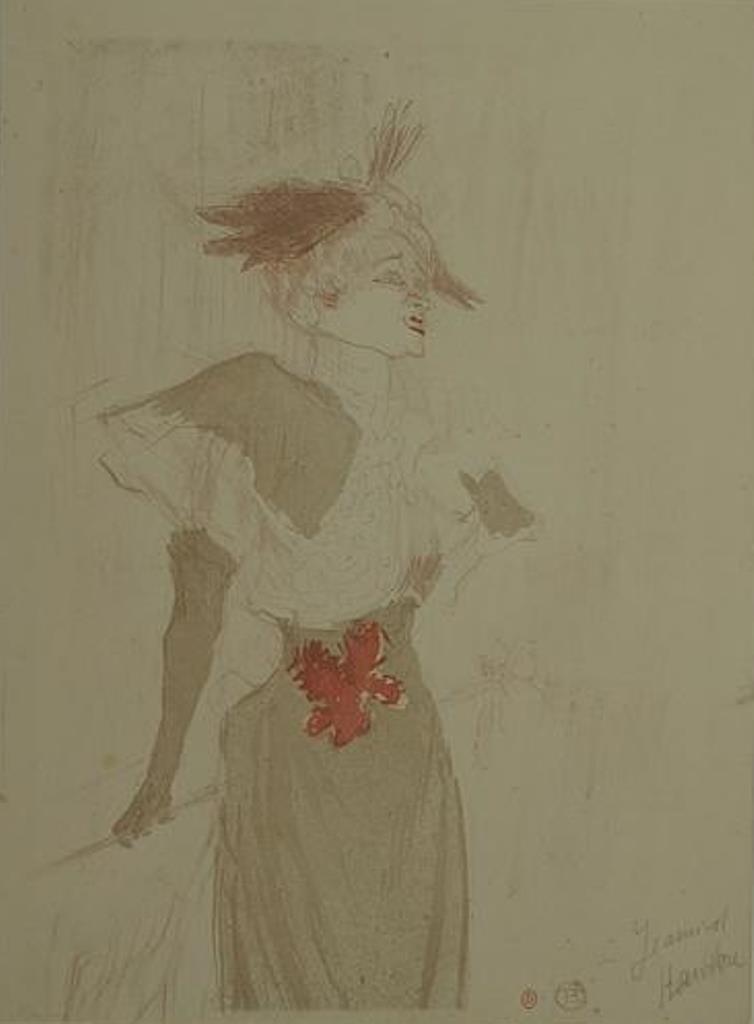 Henri de Toulouse-Lautrec. Lender debout 1895