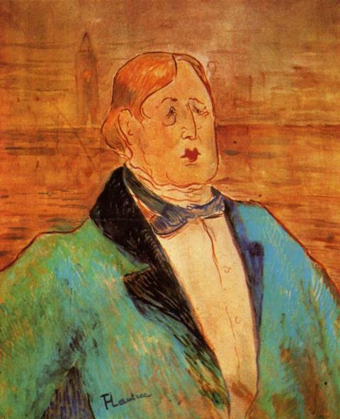 Henri de Toulouse-Lautrec. Oscar Wilde 1895