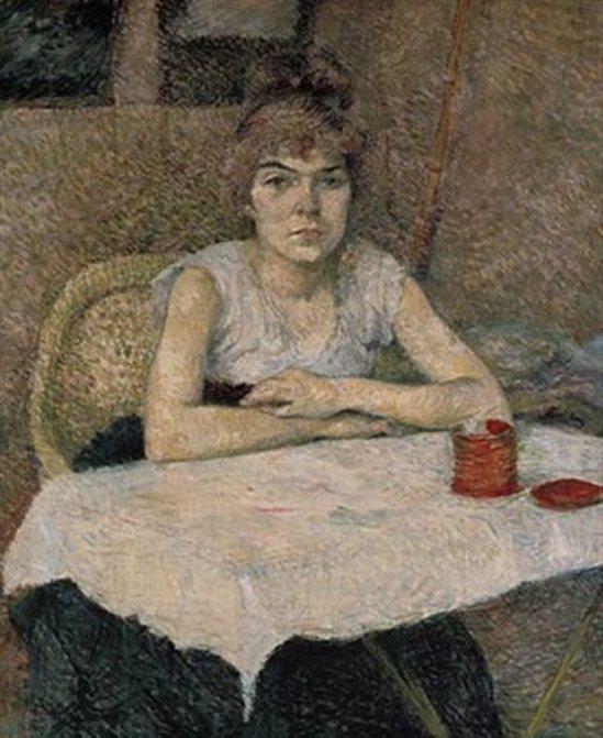 Henri de Toulouse Lautrec. poudre de riz 1887